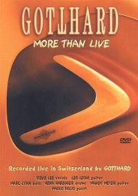 Cover Gotthard - More Than Live [DVD]